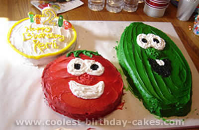 Veggie Tale Cake Photo