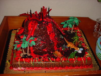 Coolest Homemade Volcano Cake Ideas And Decorating Tips