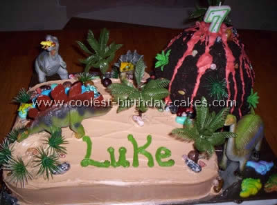 Coolest Volcano Cakes, Photos and How-To Tips