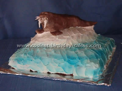 Coolest Walrus Cake Ideas and Photos