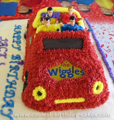 Strange Coolest Wiggles Cakes And How To Tips Birthday Cards Printable Opercafe Filternl
