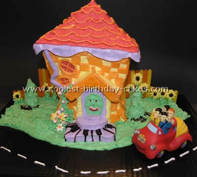 Homemade Wiggles Cake