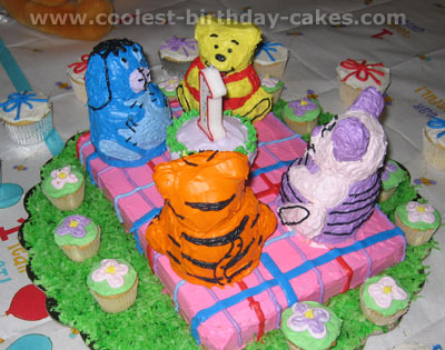 Winnie the Pooh and Friends Cakes