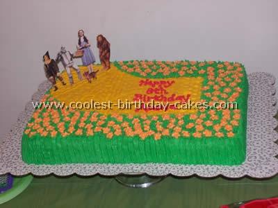 Wizard of Oz Cake Photo