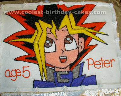 Yugioh Character Cake Photo