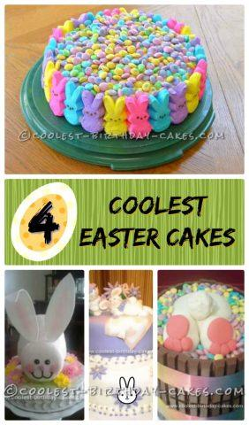 Incredible Coolest Easter Cake Ideas Personalised Birthday Cards Beptaeletsinfo