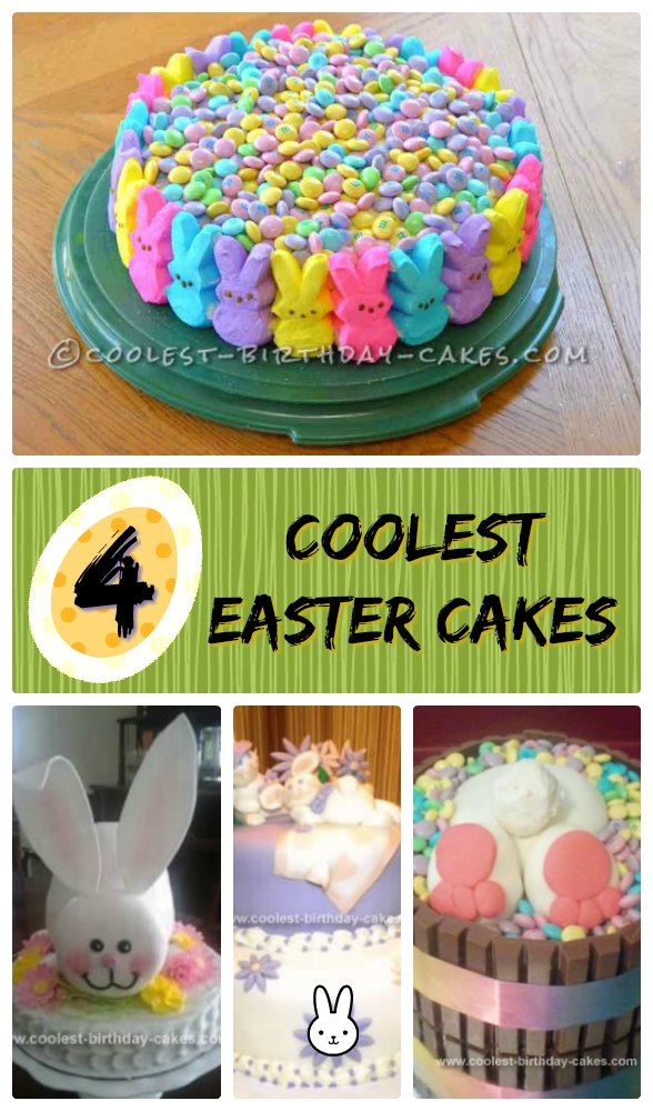 4 Cool Easter Cake Designs