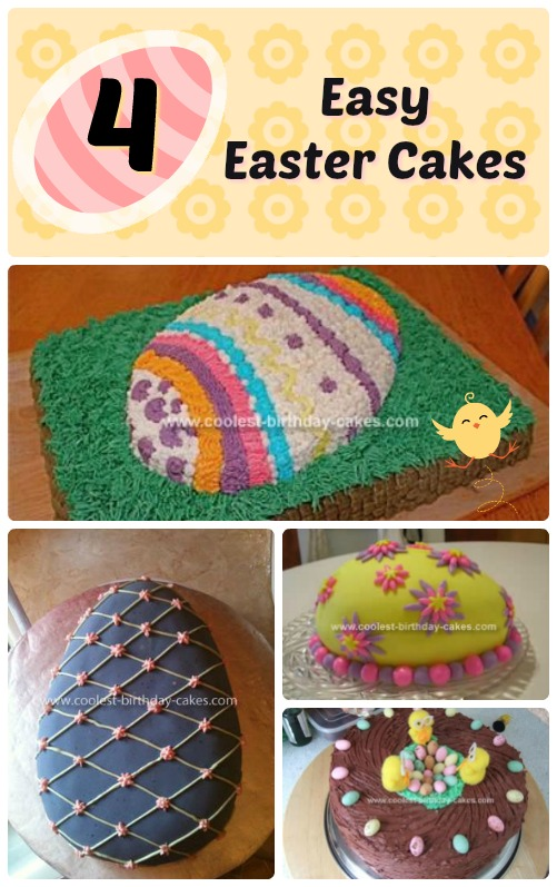 4 Easy Easter Egg Cake Designs Coolest Easter Cakes