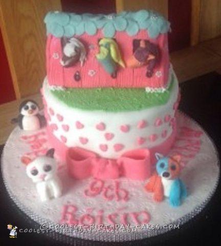 1000 awesome birthday cake designs for animal lovers coolest homemade ty teddy and horse stable cake maxwellsz