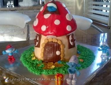 Smurfs Mushroom House