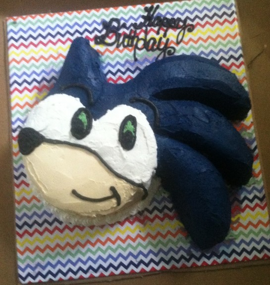 Coolest Homemade Sonic The Hedgehog Cakes