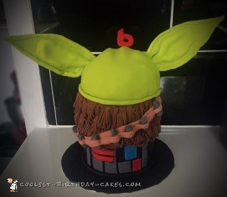 star wars theme cake