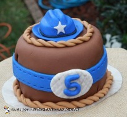 Outstanding Coolest Homemade Cowboys And Cowgirls Cakes Funny Birthday Cards Online Chimdamsfinfo