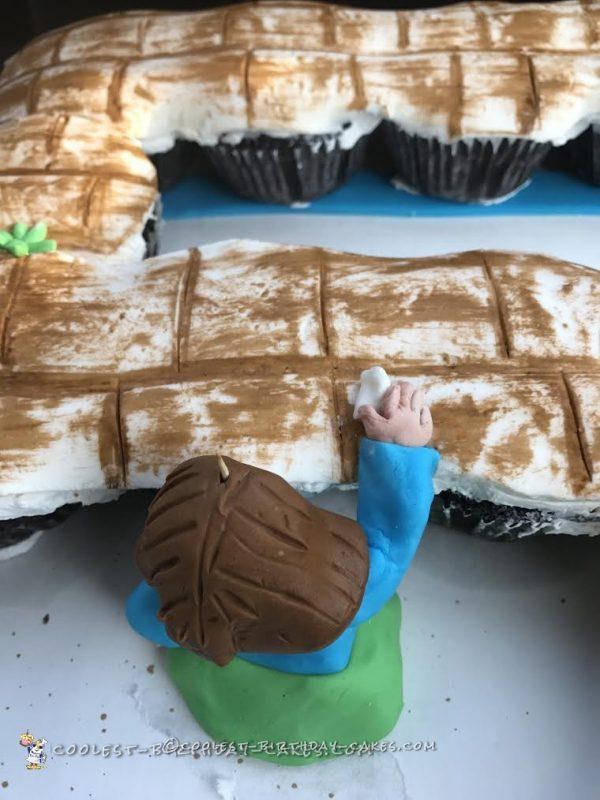 wailing wall cake