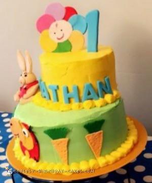 babyfirst themed cake