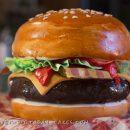 Coolest Homemade Burger Cake