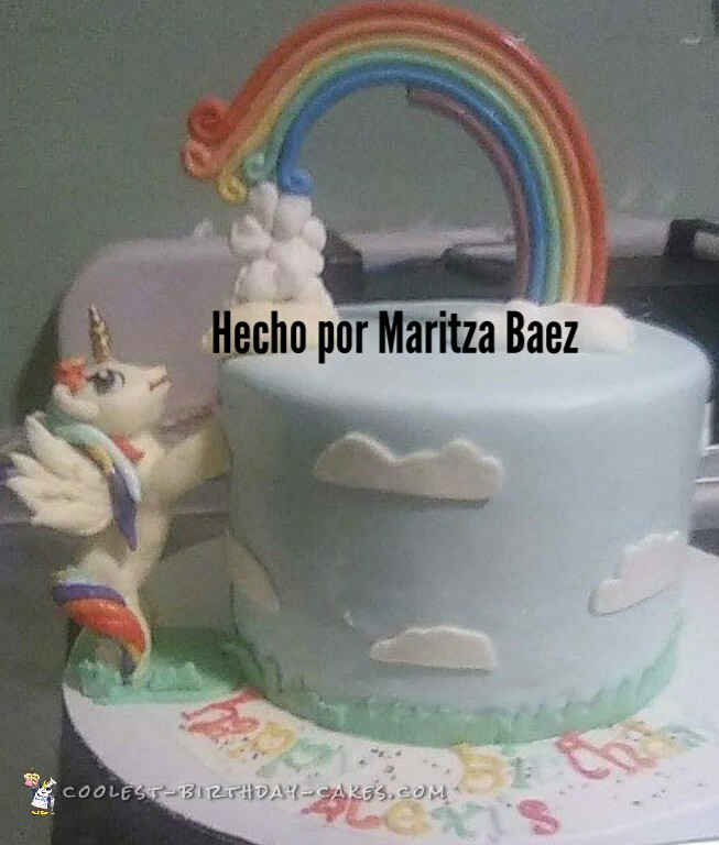 Gorgeous Homemade My Little Pony Cake For 5 Year Old