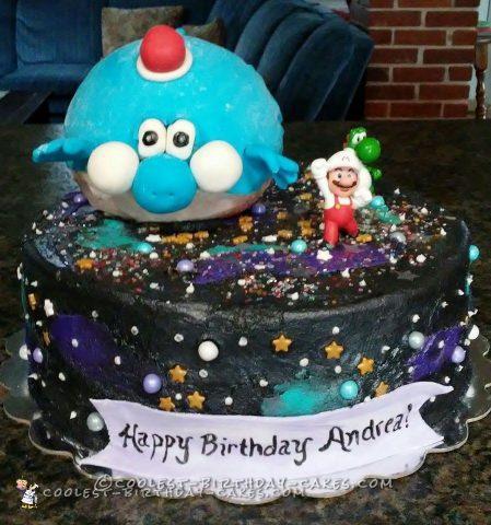 Super Mario Galaxy Cake