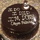 Funny Divorce Cake