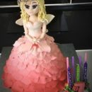 Fairy Princess Birthday Cake