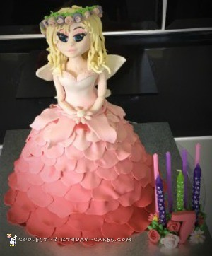 Fairy Princess Birthday Cake - Coolest Princess Cakes