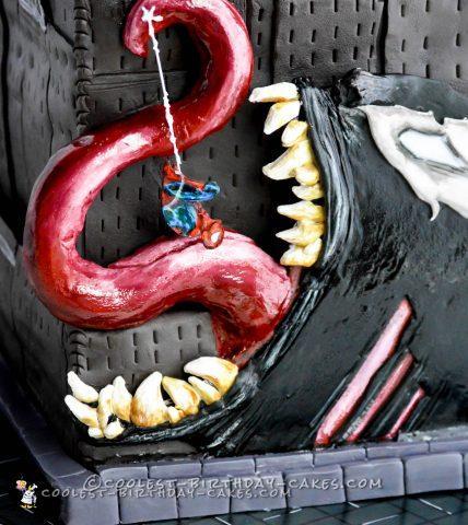 Marvel Madness Spiderman Cake