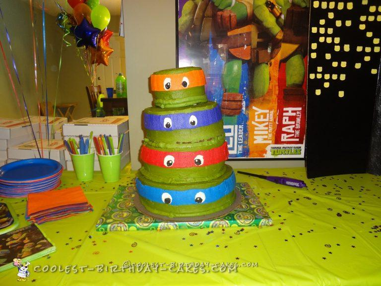 Remarkable 71 Coolest Teenage Mutant Ninja Turtle Cake Ideas Birthday Cards Printable Riciscafe Filternl