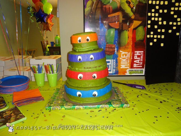Ninja Turtle Tier Cake