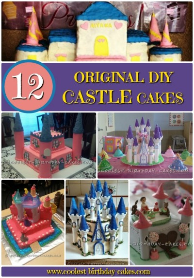 Princess Castle Cake Collection