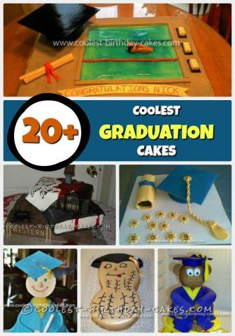 20 Coolest Graduation Cake Ideas