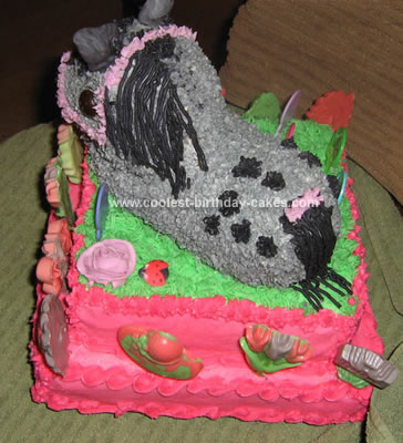 Coolest Appaloosa Horse Cake