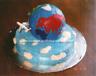 Coolest Around the World Cake