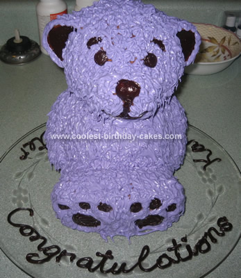Coolest Baby Shower Bear Cake