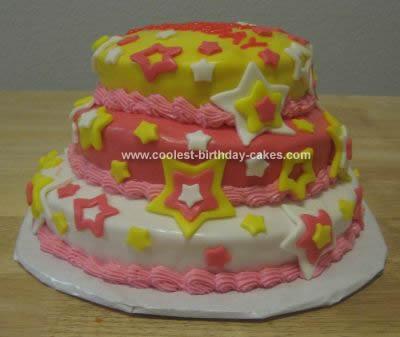 Birthday Stars Cake