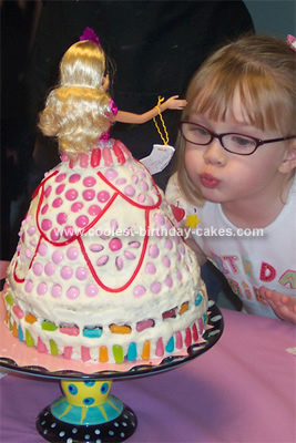 Coolest Candy Land Birthday Cake