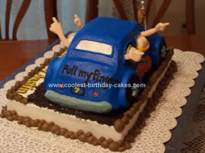 Car Birthday Cake