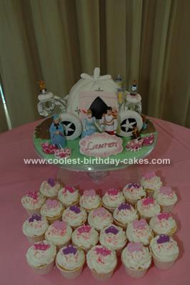 Coolest Cinderella Carriage Cake Design