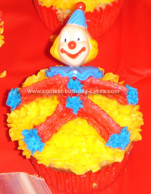 Coolest Circus Clown Cake