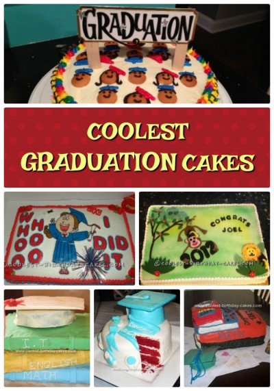 Coolest Graduation Cakes