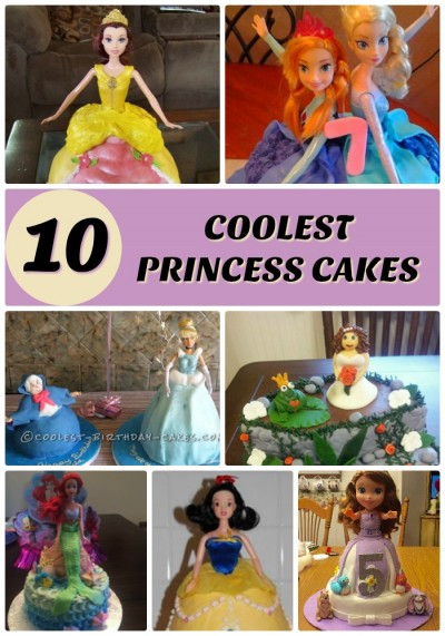 Coolest Princess Cake Ideas