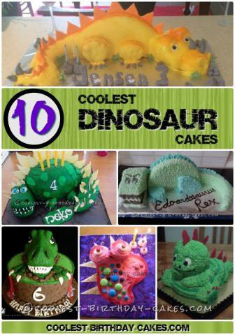 Coolest Dinosaur Cake Ideas