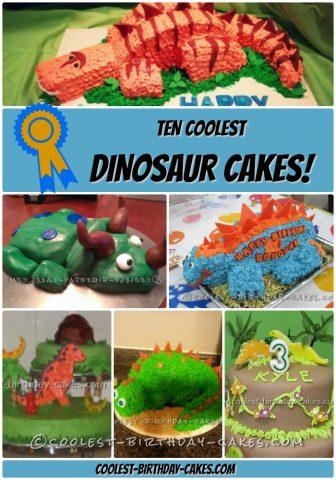 Marvelous 10 Coolest Dinosaur Cakes Weve Ever Seen Personalised Birthday Cards Sponlily Jamesorg
