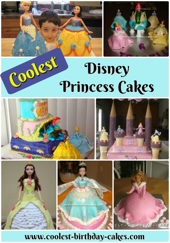 12 Coolest Disney Princess Cake Ideas Awesome DIY Decorating