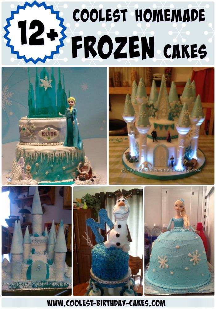 12+ Coolest Frozen Birthday Cake Ideas for the Ultimate