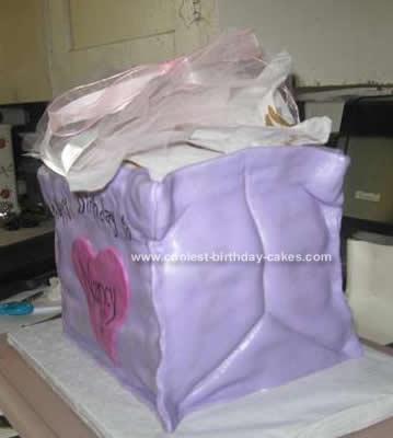 Coolest Gift Bag Birthday Cake