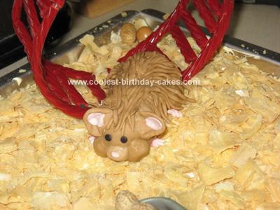 Coolest Hamster Littlest Pet Shop Cake