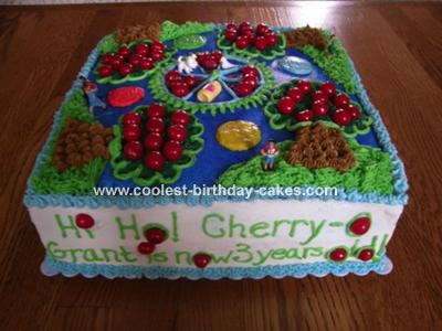 Coolest Hi Ho Cherry O Cake