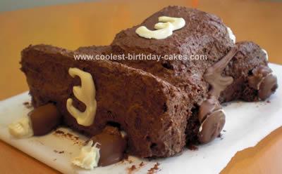 Coolest Lightening McQueen Birthday Cake