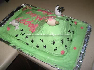 Coolest Littlest Pet Shop Birthday Cake