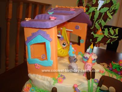 Coolest Littlest Pet Shop Toys Cake